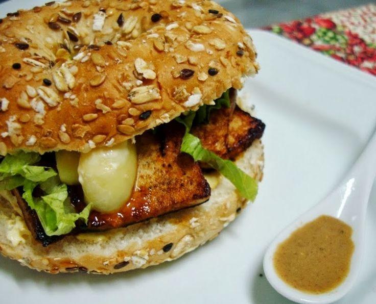 Cantinho Vegetariano: Sanduíche de Tofu (vegana)