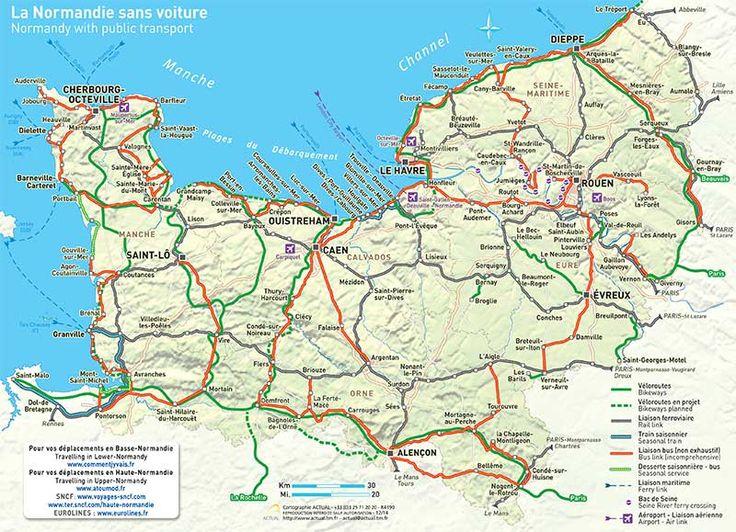 (c) Actual - Normandy Tourist Board