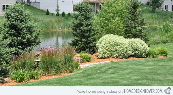 232 best images about berms on pinterest gardens for Landscape design okc