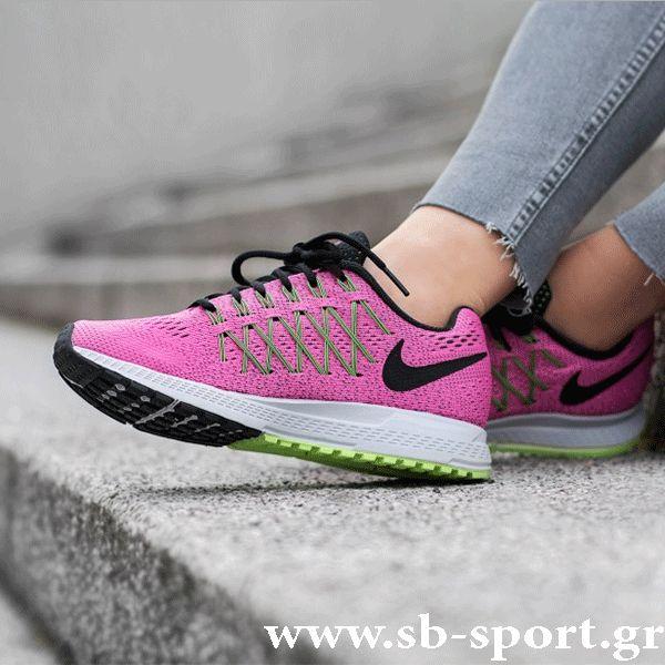 Nike Air Zoom Pegasus 32 (749344-600) Το γυναικείο αθλητικό Air Zoom Pegasus 32 της Nike είναι το πιο γρήγορο και δυναμικό παπούτσι για τρέξιμο που δημιουργήθηκε πότε. 1)Η μονάδα Nike Zoom Air στη φτέρνα προσφέρει, διακριτική αντικραδασμική προστασία με άριστη απόκριση. 2)Η νέα σχεδίαση φέρνει τη μονάδα πιο κοντά στο πόδι, εξασφαλίζοντας βελτιωμένη αντικραδασμική προστασία από το πρώτο μέχρι το τελευταίο χιλιόμετρο της κούρσας. Δωρεάν μεταφορικά!!! Αγορές On Line στο www.sb-sport.gr. Αφήστ