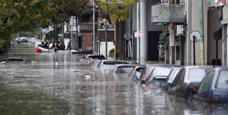 Inundaciones en Buenos Aires.