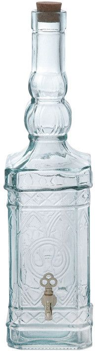 "UMA Inc Gls Beverage Dispenser 7""W, 19""H"
