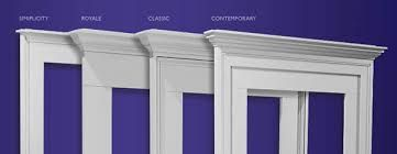 exterior window trim options: exterior window trim styles