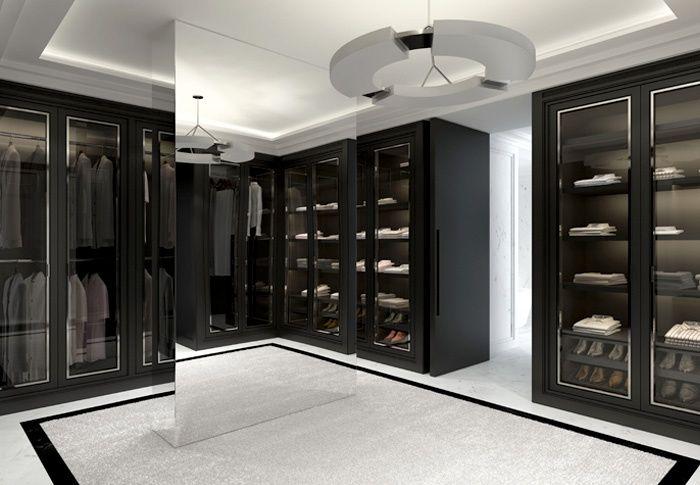 Ankleide einbauschr nke pinterest ankleide for Herrenzimmer modern einrichten