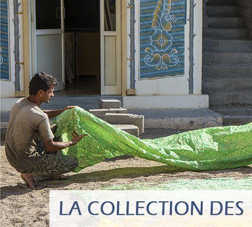 Tissu au mètre, tissu indien artisanal, imprimé au bloc de bois. LABOUTIQUE MG c'est aussi un commerce équitable avec l'Inde (tél. 05 62 90 11 91)...