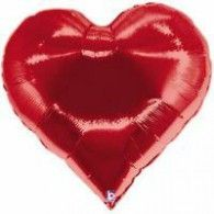 Shape Casino Heart $22.95 (filled with Helium in Store) H85265