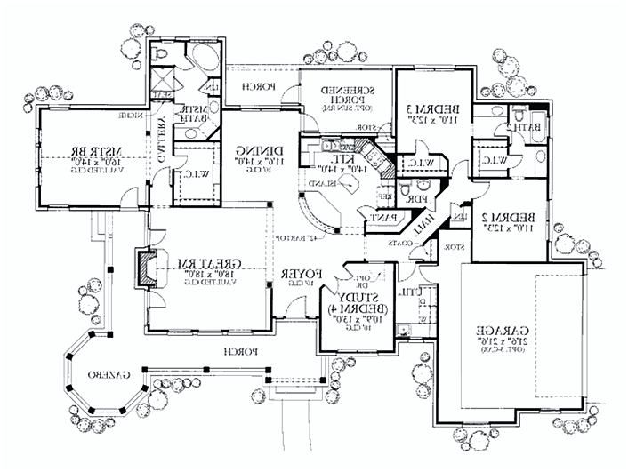 6 Bedroom House Plans 6 Bedroom House Plans Bedroom House Plans House Plans