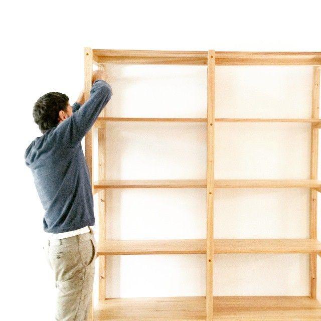 31 best images about biblioteca estante on pinterest - Bibliotecas de madera ...