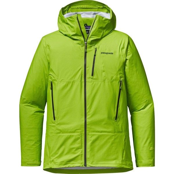 Patagonia M10 Jacket (535 CAD) ❤ liked on Polyvore featuring men's fashion, men's clothing, men's activewear, men's activewear jackets and mens activewear