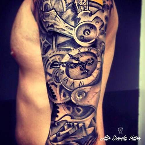 Alta Escuela Tattoo Brazo De Javi Metetintas