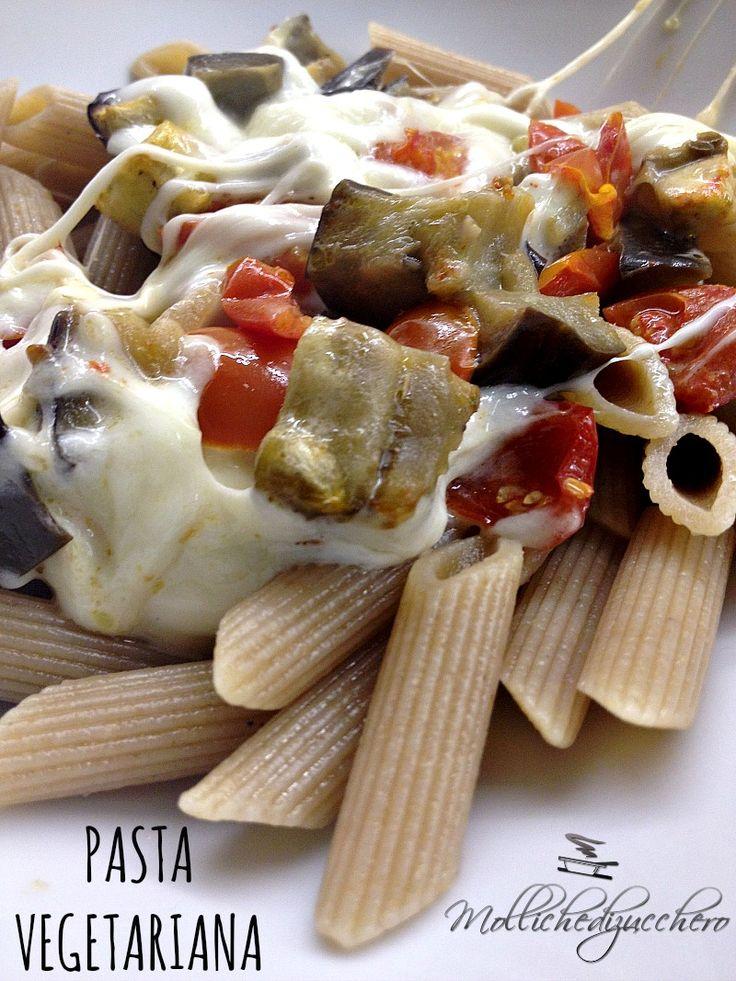 #pasta #vegetariana di #Mollichedizucchero
