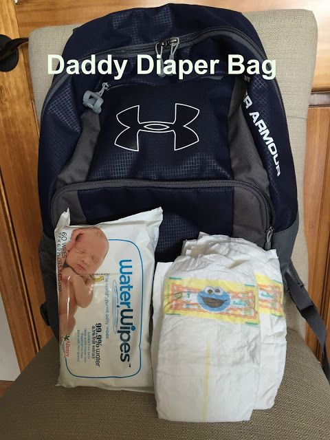 """How to make a """"Daddy Diaper Bag"""""""