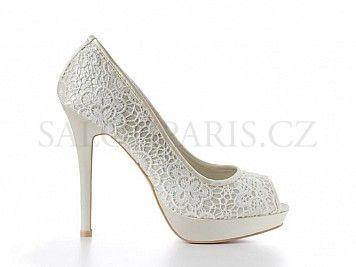 Dámské svatební boty Menbur Raquel 4986