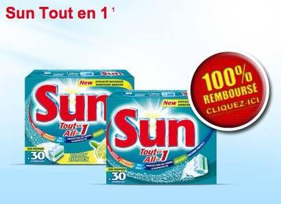 sun 100% remboursé