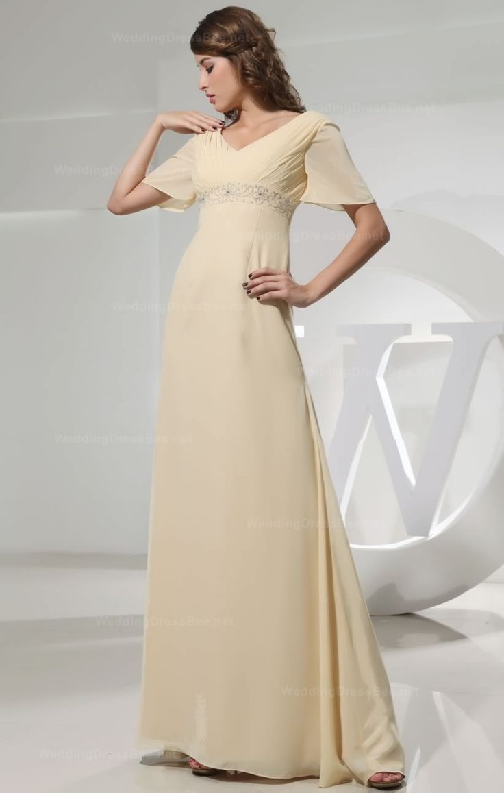 29 best bridesmaids images on pinterest marriage bridesmaid and bridesmaid dresses bridesmaid dresses long bridesmaid dresses coral short light yellow sheath floor length v neck chiffon bridesmaid dress with beading ombrellifo Gallery