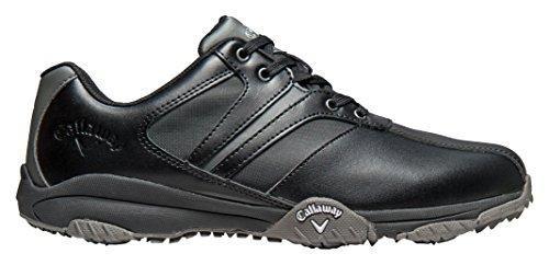 Oferta: 69.95€ Dto: -38%. Comprar Ofertas de Callaway Chev Comfort - Zapatos de golf para hombre, color negro / gris, talla 40.5 (M) barato. ¡Mira las ofertas!