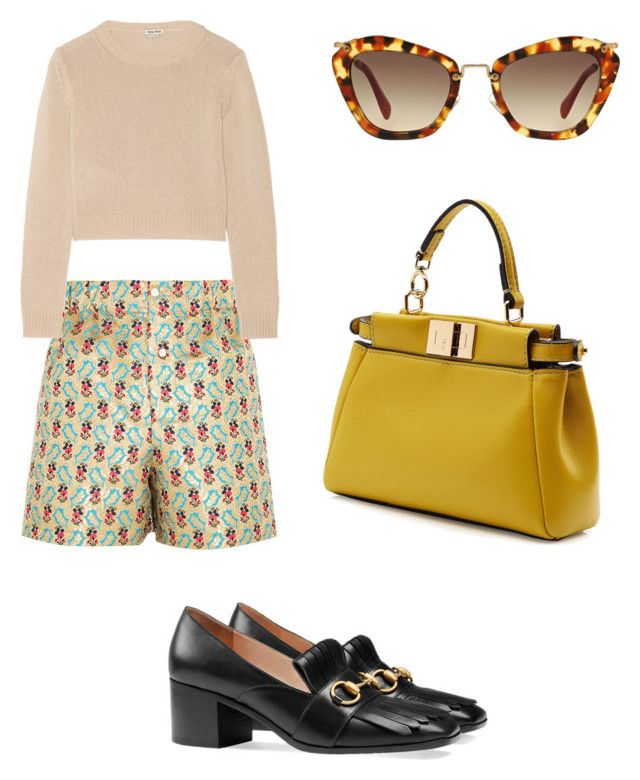Sunset by anita-wonderlight on Polyvore featuring polyvore, fashion, style, Miu Miu, Gucci, Fendi and clothing