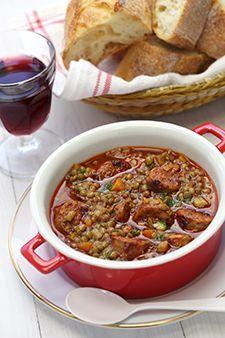 Lentilles-saucisses