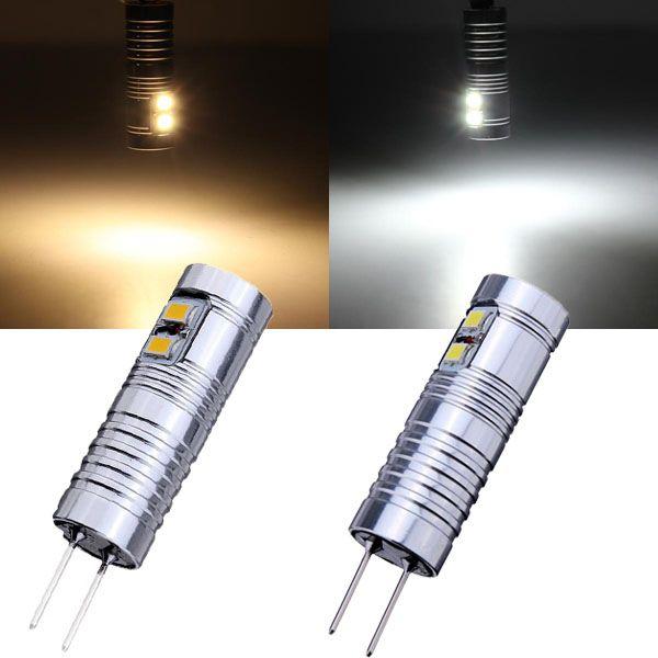 G4 1 2w Warm White White 6 Smd 3020 12v Led Light Bulb 12v Led Lights Led Light Bulb Bulb