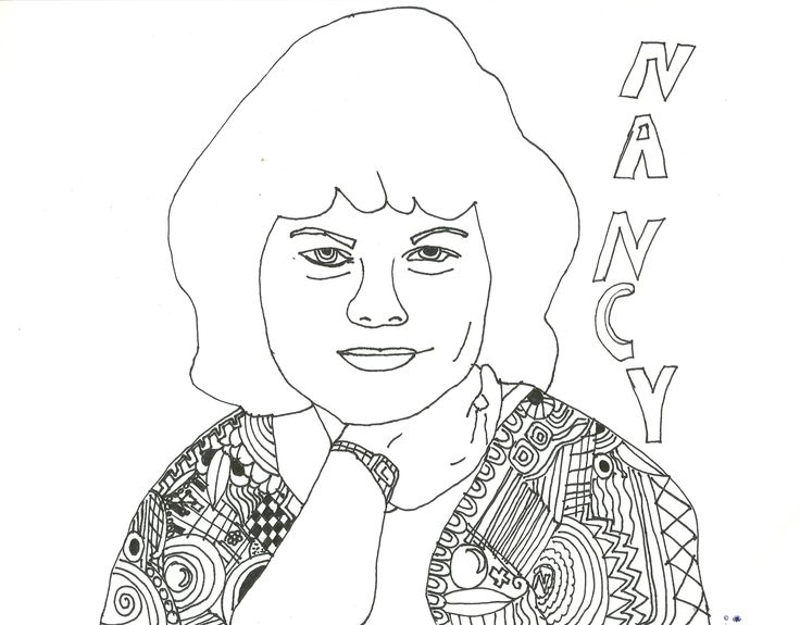 coloring page of my mom - Celebrity Coloring Book