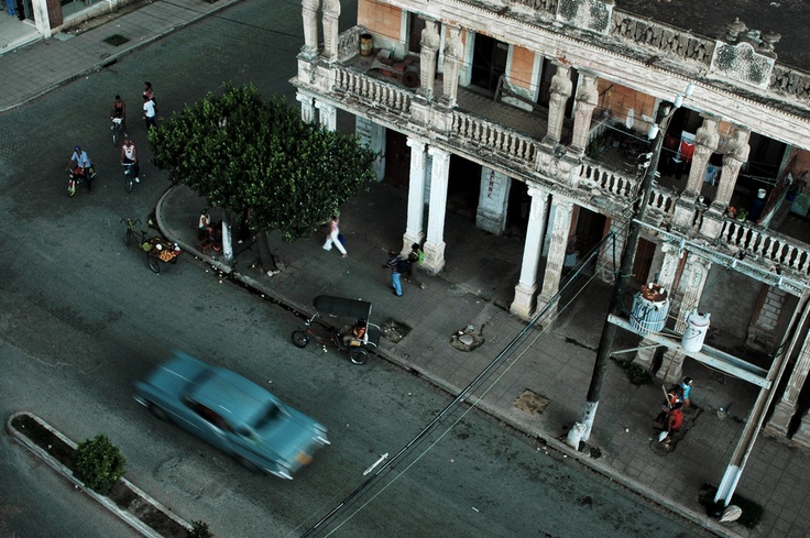 The city of Camaguey in Cuba.