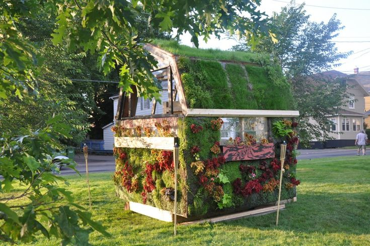 Green Roof Garden Shed Pretty Awesome Green Roof
