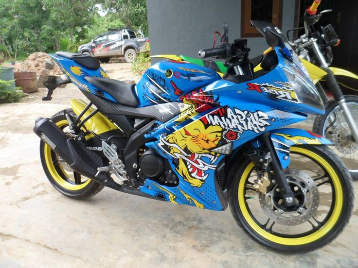 Wrap & Cut.. Yamaha R15 Sticker 3D #TribalGraphics #CuttingSticker #3DCuttingSticker #Decals #Vinyls  #Stripping #StickerMobil #StickerMotor #StickerTruck #Wraps  #AcrilycSign #NeonBoxAcrilyc #ModifikasiMobil #ModifikasiMotor #StickerModifikasi  #Transad #Aimas #KabSorong #PapuaBarat