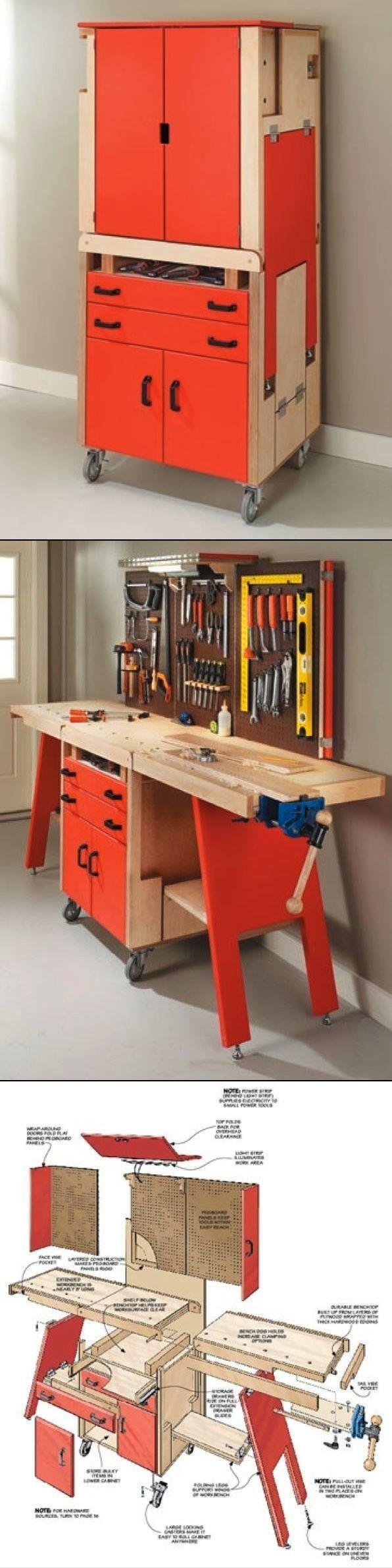 Folding Work -bench / -Shop