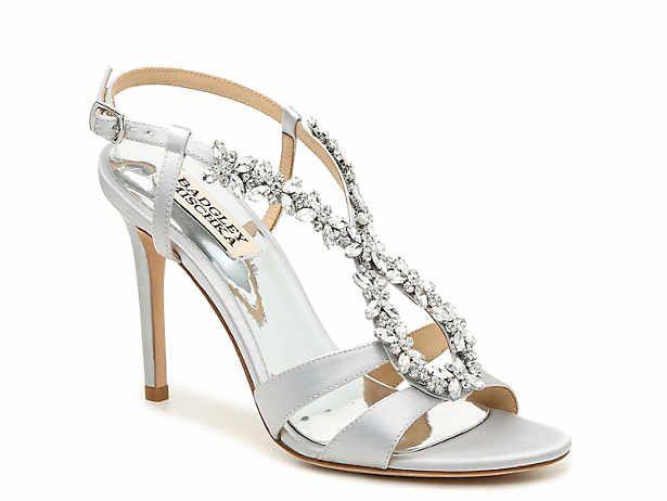 Badgley Mischka Dsw Sandals Dressy Shoes Wedding Shoes