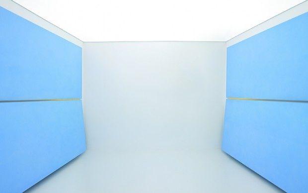 Ettore Spalletti - Stanza orizzonte – 2010 [© Mario Di Paolo]