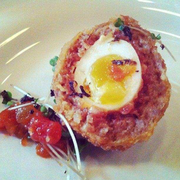 Chorizo Scotch Eggs}