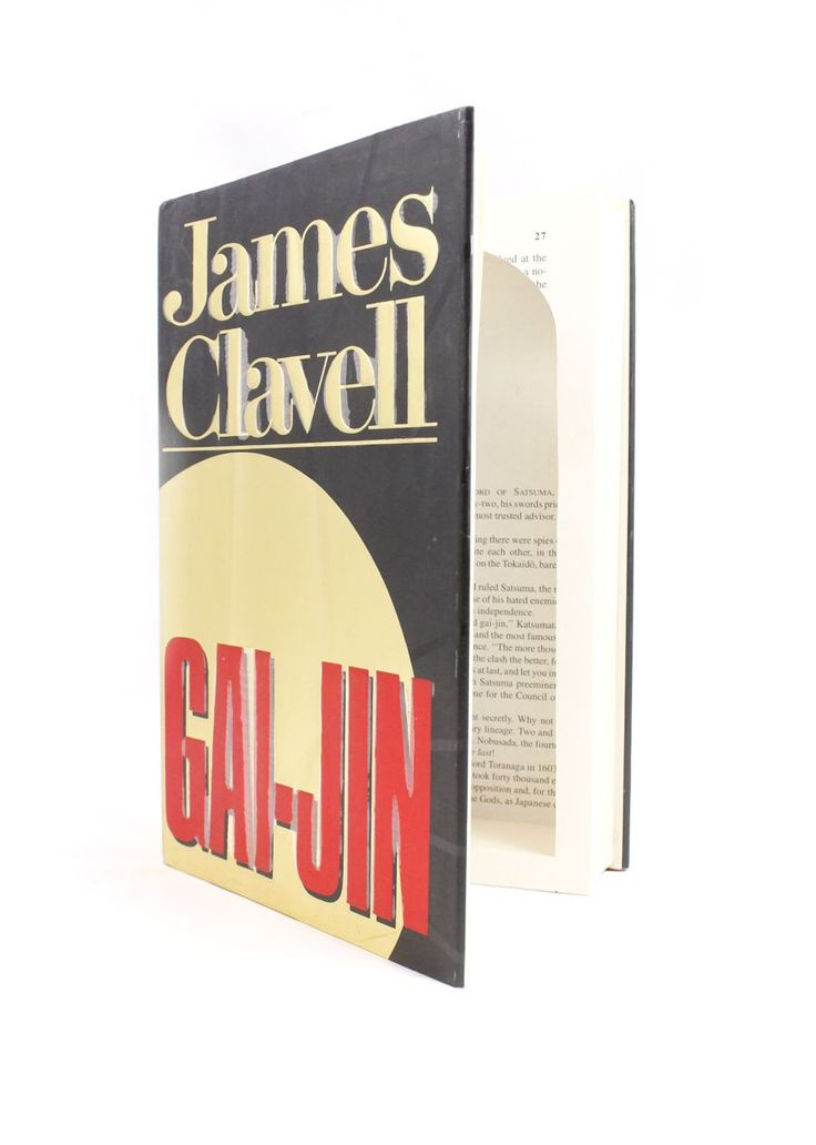 Gai-Jin by James Clavell - Large Book Safe
