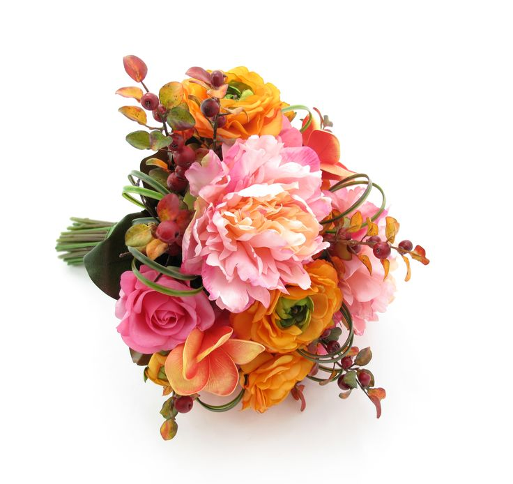 Yellow Wedding Flowers Online : Best images about yellow orange wedding bouquets on
