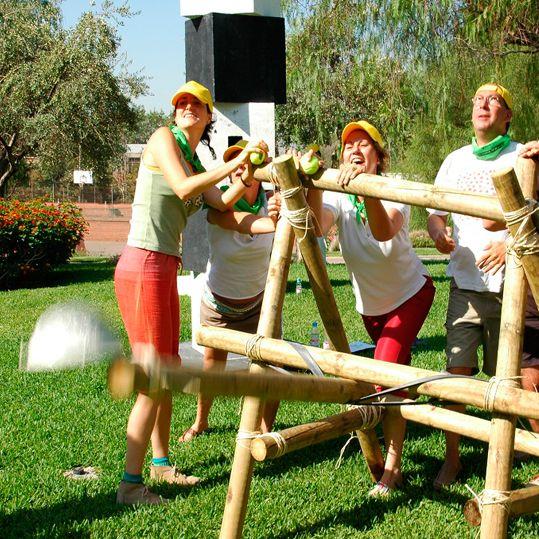 Catapulta - Creativando  #TeamBuilding #Aventura