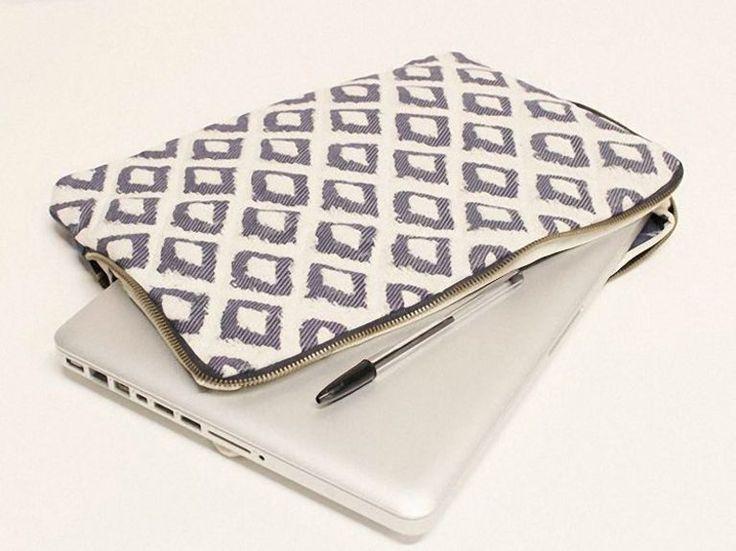 DIY-Anleitung: Laptop-Tasche mit Reißverschluss nähen via DaWanda.com
