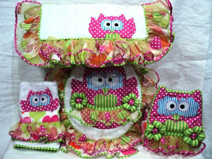 Set De Baño Tejido En Crochet Paso A Paso:Set De Bano Tejido