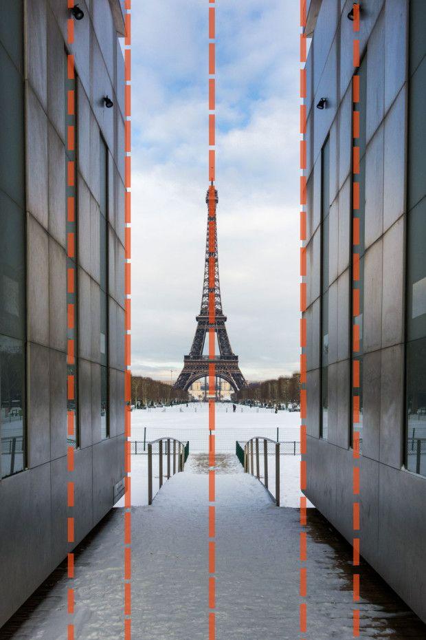 Sur cette image, la règle des tiers n'est pas complètement respectée mais nous jouons aussi sur la symétrie - © Damien Roué