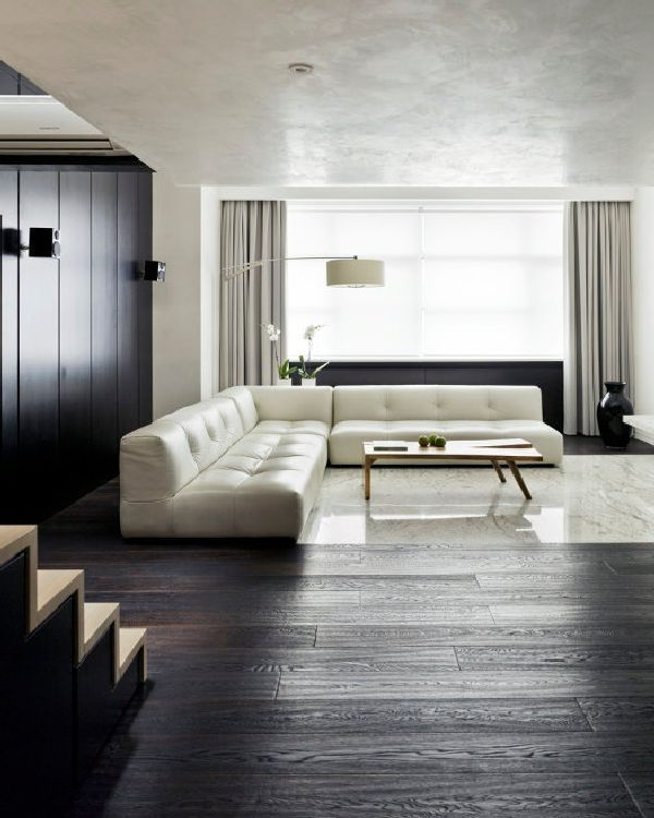 Apartment Living For The Modern Minimalist: Best 25+ White Leather Couches Ideas On Pinterest