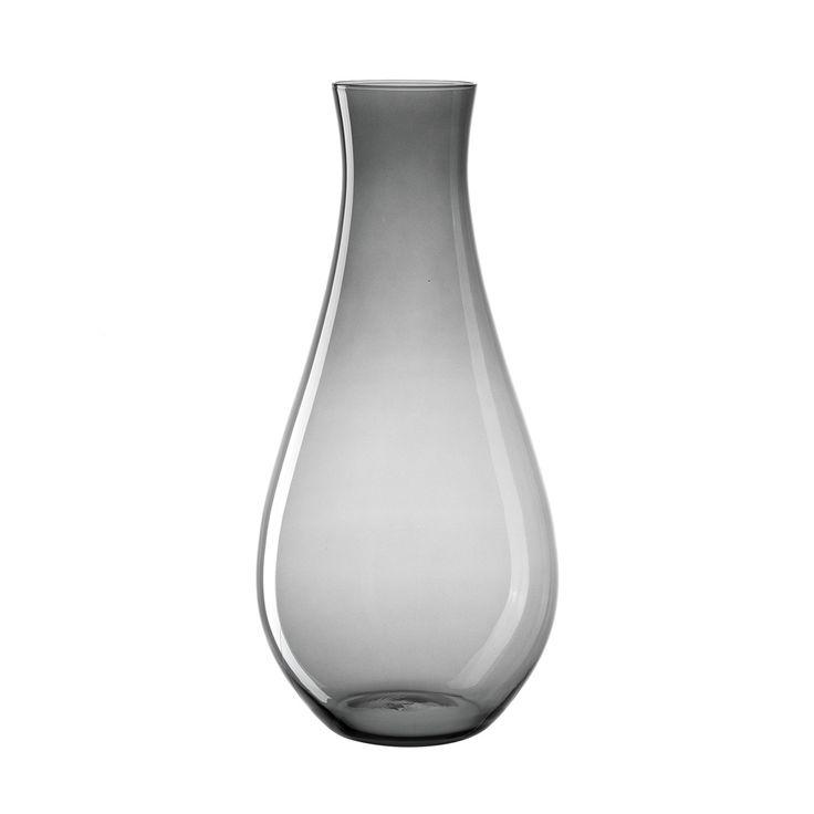 Vase+70+basalto+Giardino+-+Peppen+Sie+Ihre+Blumenarrangements+auf+mit+dieser+eleganten+Vase+aus+der+Serie+Giardino.+Einzelne+Zweige+oder+bunte+Blüten+kommen+in+dem+puristischen+Design+erst+richtig+zur+Geltung.+Passt+in+jedes+Interieur.+stabiler+Eisbodenhandgefertigtin+zwei+Größen+erhältlichGröße+(B/H/T):+300/700/300mm