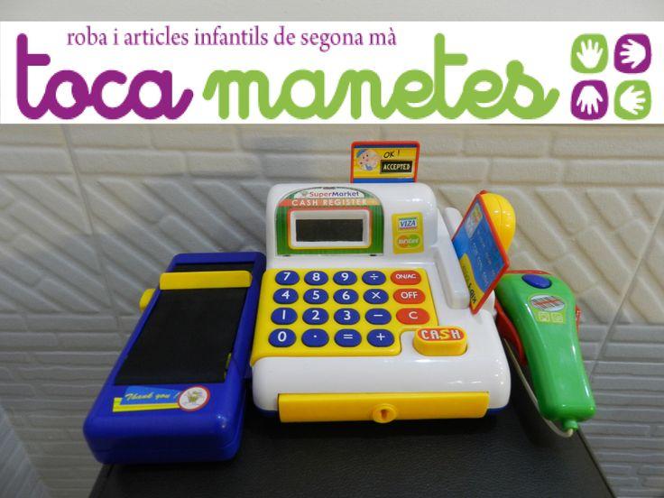 Caja registradora. PVP TocaManetes: 8€.