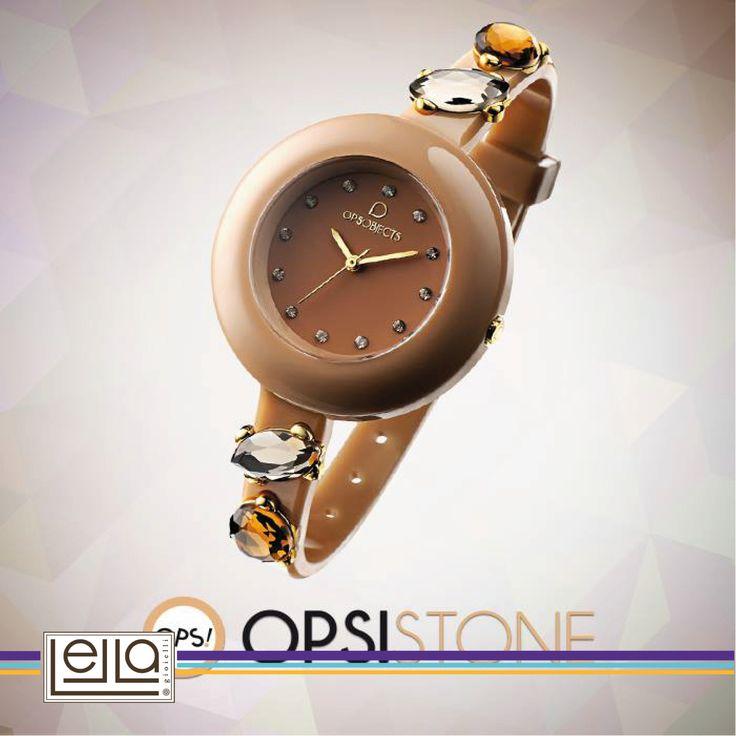 Vieni a scoprire la nuova e splendida collezione #OPS!STONE! Il nuovo bracciale #Opsobjects e lo splendido orologio abbinato per la fall/winter collection..  Accessori chic & cool con luminose pietre colorate!