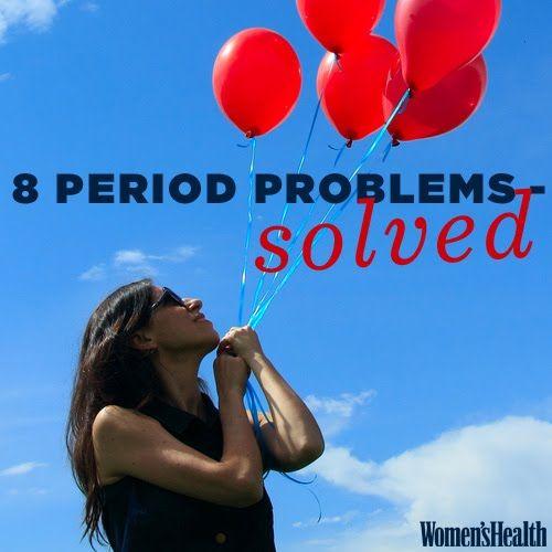 8 Major Period Problems—Solved   Women's Health Magazine