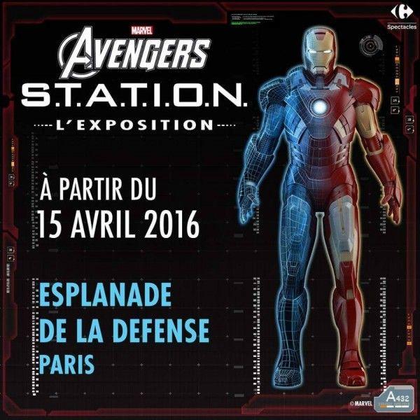 ToyzMag.com » L'Exposition Marvel « Avengers: S.T.A.T.I.O.N. » ouvrira ses portes à Paris le 15 avril 2016