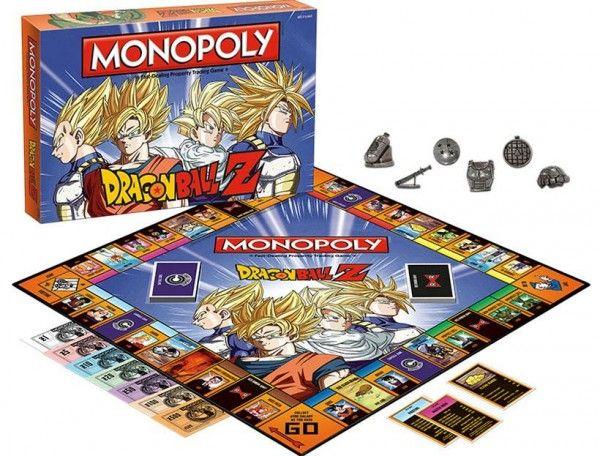 Boite de #Monopoly #DragonBallZ à 40$! Même le prix est motelle!