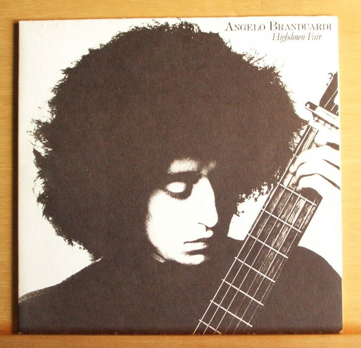 ANGELO BRANDUARDI - Highdown Fair -  Vinyl LP Italo Disco Pop - Top RARE