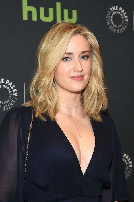 Ashley Johnson at a BlindSpot event on April 11, 2016...