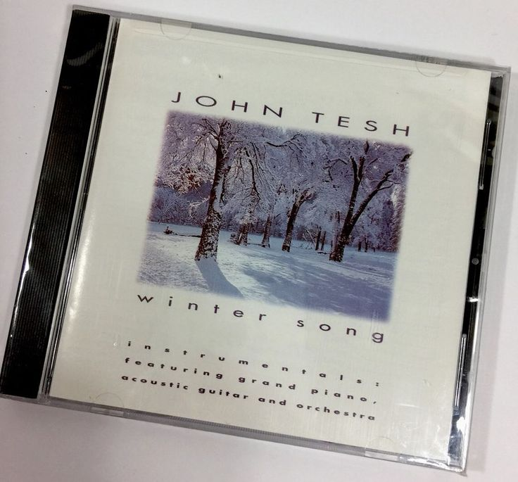 New John Tesh Winter Song CD 1993 New Factory Sealed GT Records 12 Tracts  | eBay