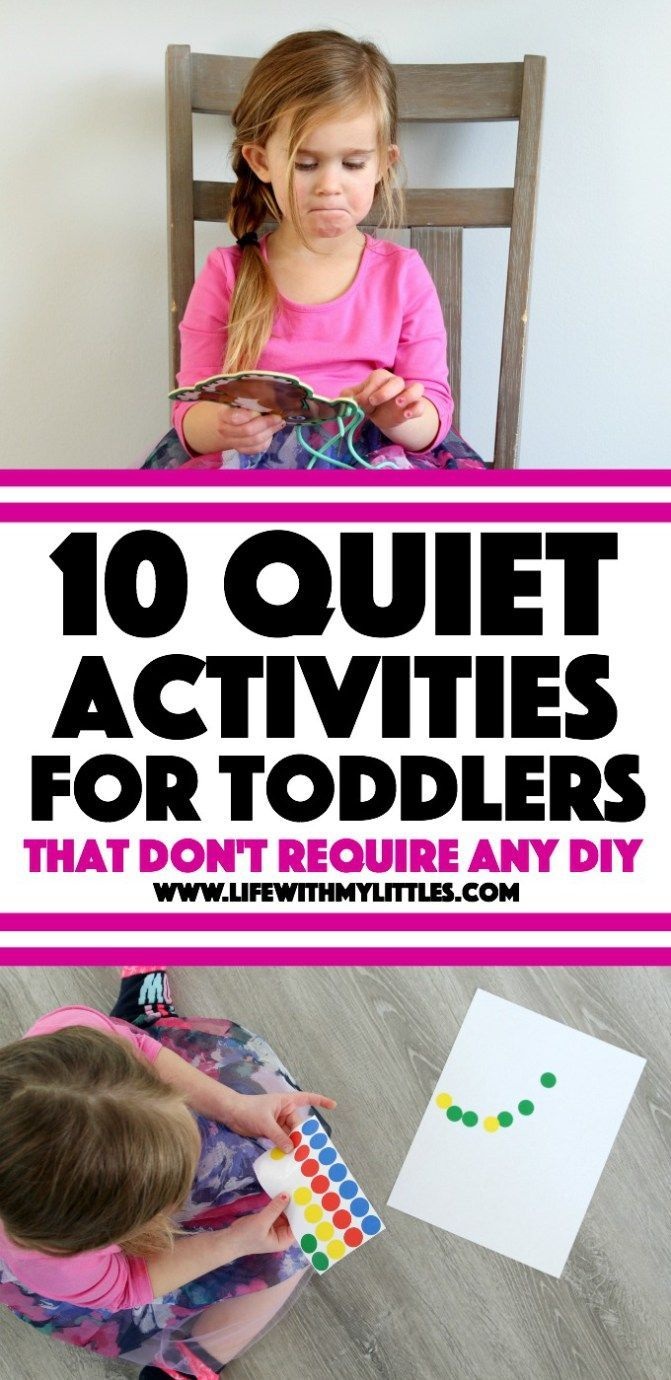 10 Quiet Activities for Toddlers