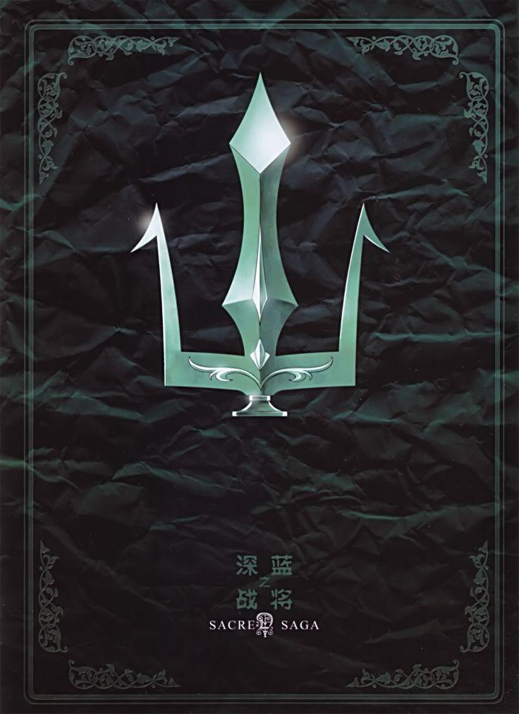 Portada. Generales Marinos. Sacred Saga. Saint Seiya Studio Future.