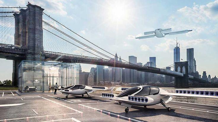 El Lilium Jet, es el primer avión eléctrico de emisión cero capaz de realizar  despegues y aterrizajes verticales (VTOL)